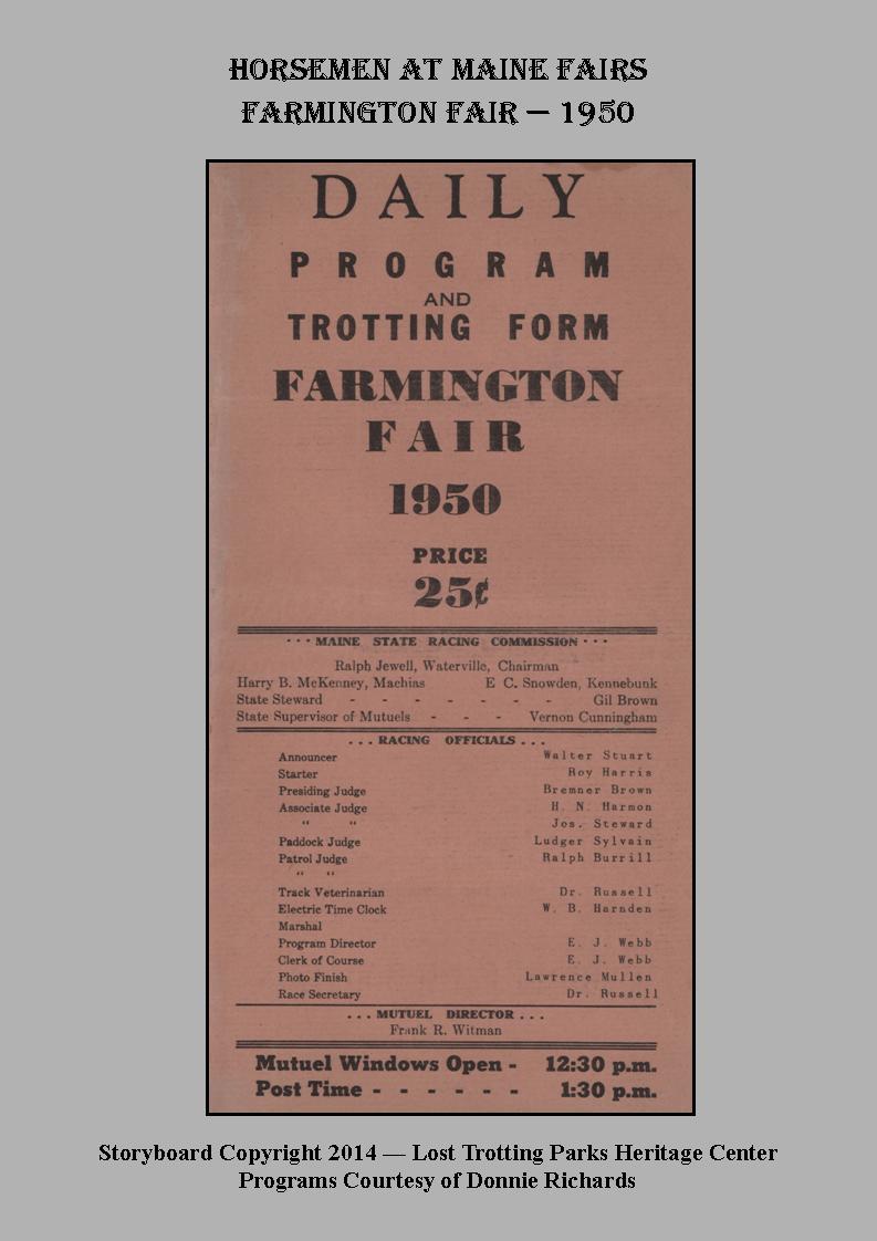 Farmington Fair, 1950