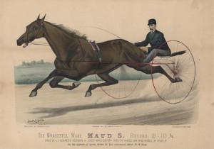 Lady Maud 1881 Litho