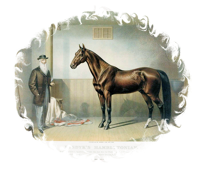 Upon the Death of Hambletonian by Don Daniels