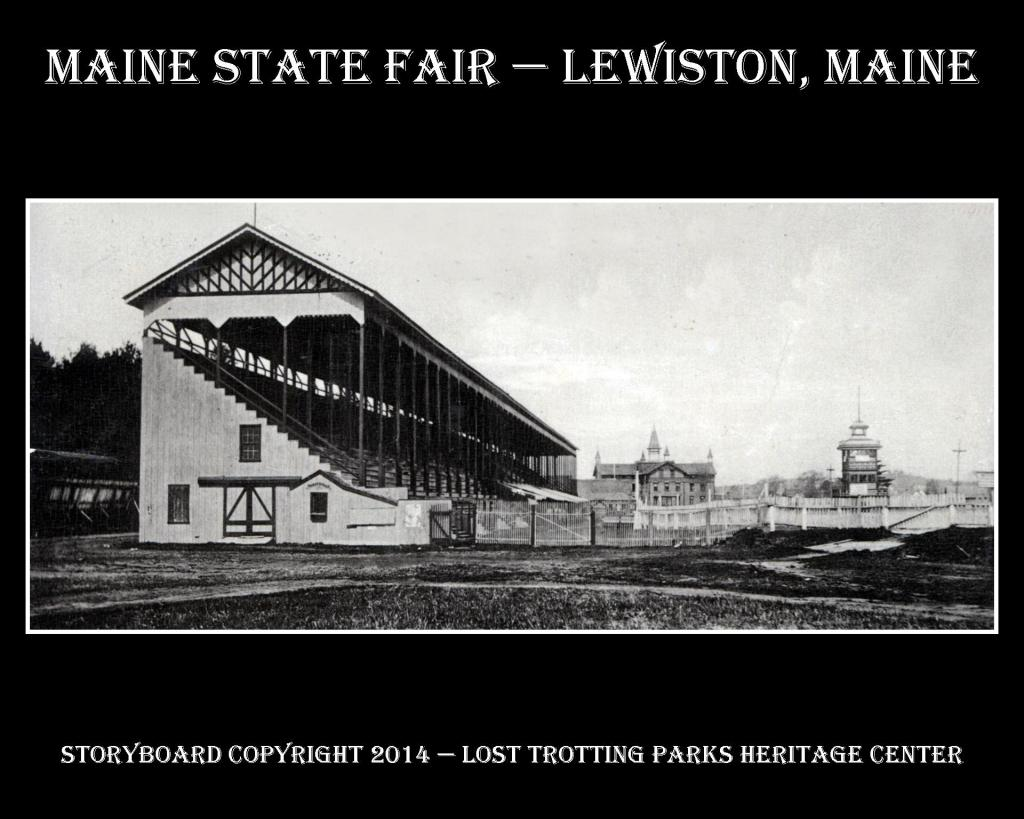 Maine State Fair B and W Postcard Storyboards web2