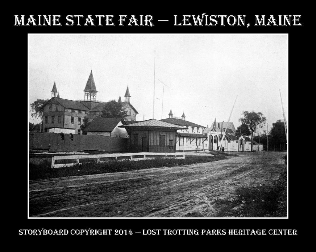 Maine State Fair B and W Postcard Storyboards web2a