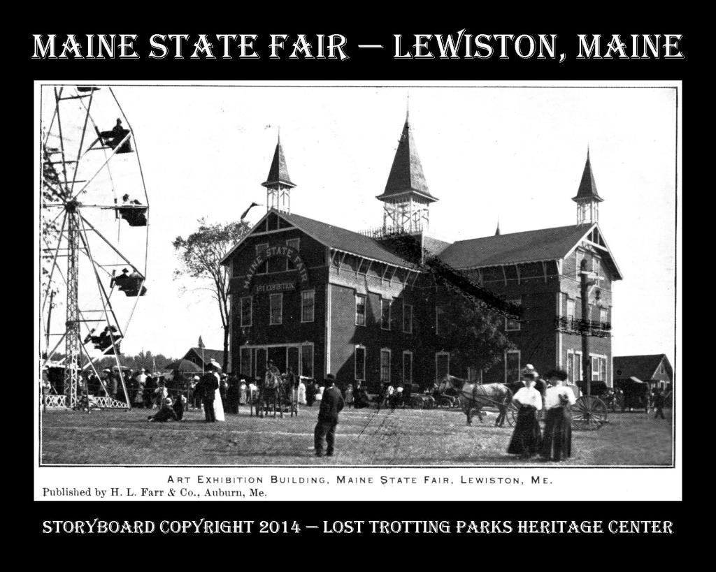 Maine State Fair B and W Postcard Storyboards web6