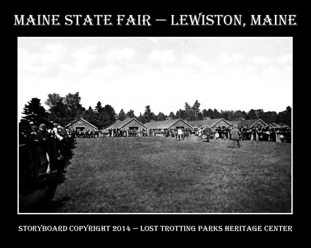 Maine State Fair B and W Postcard Storyboards web7b