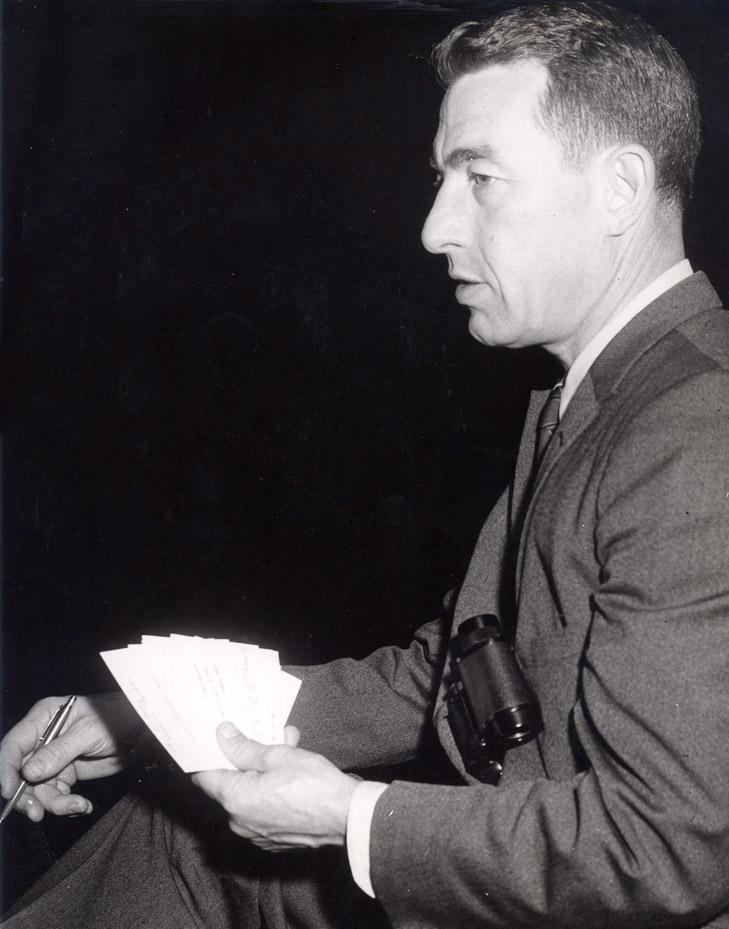 Glenn Gibbons -- Race Secretary  1954 to 1956