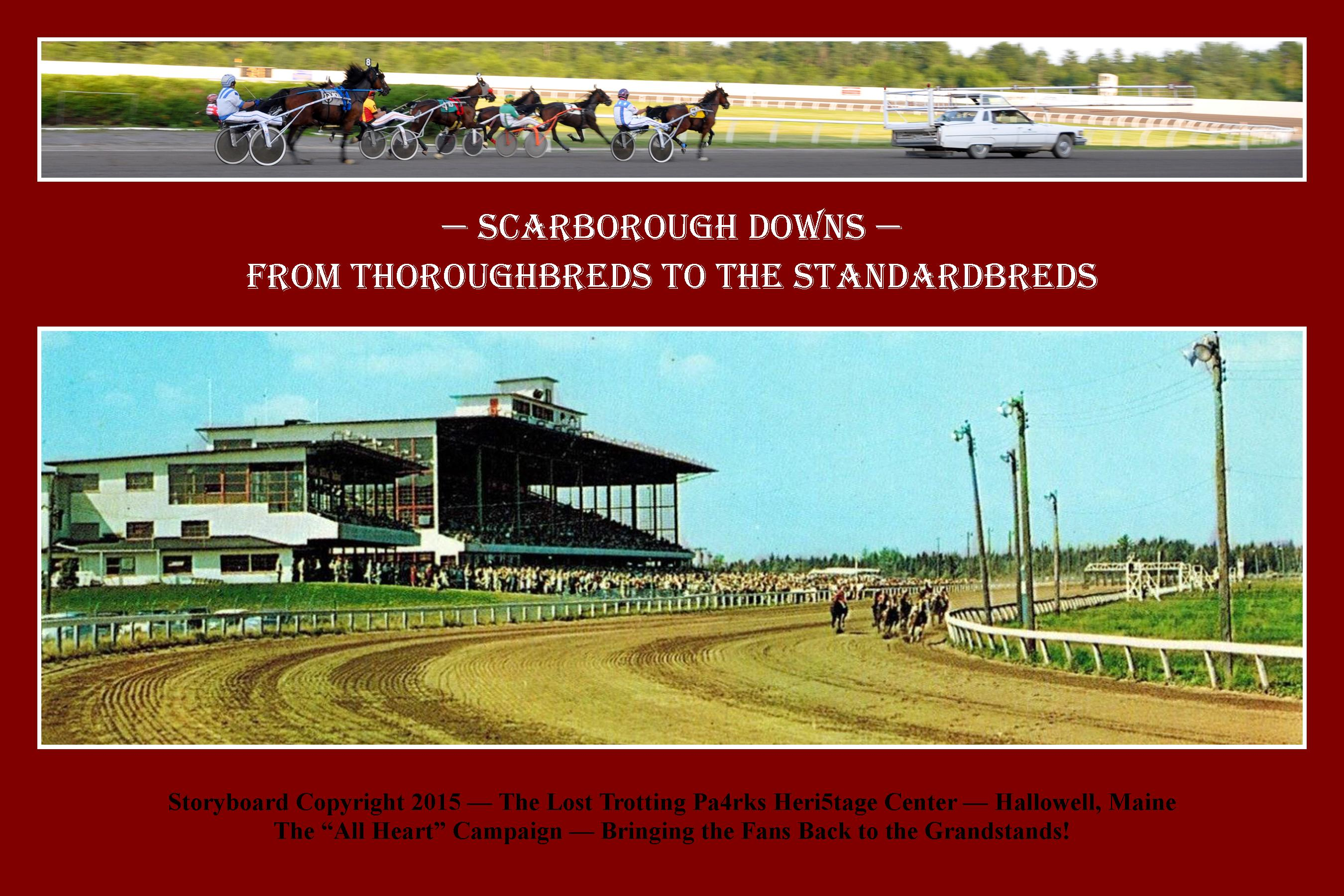 At Scarborough Downs — Maine Horsemen Share their Stories