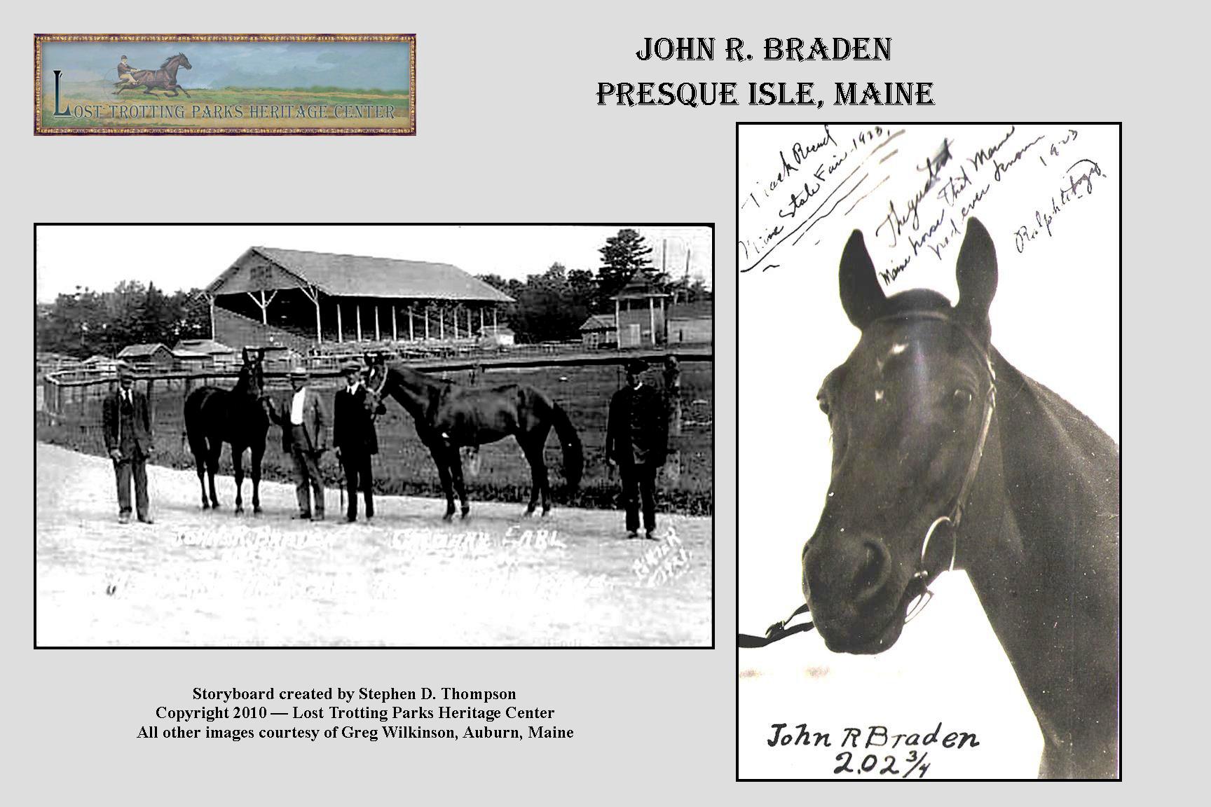 S. Dexter's Maine Spirit of the Turf — Single G Defeats John R Braden (1925) The Ghostlly Railbirds of Beacon Park