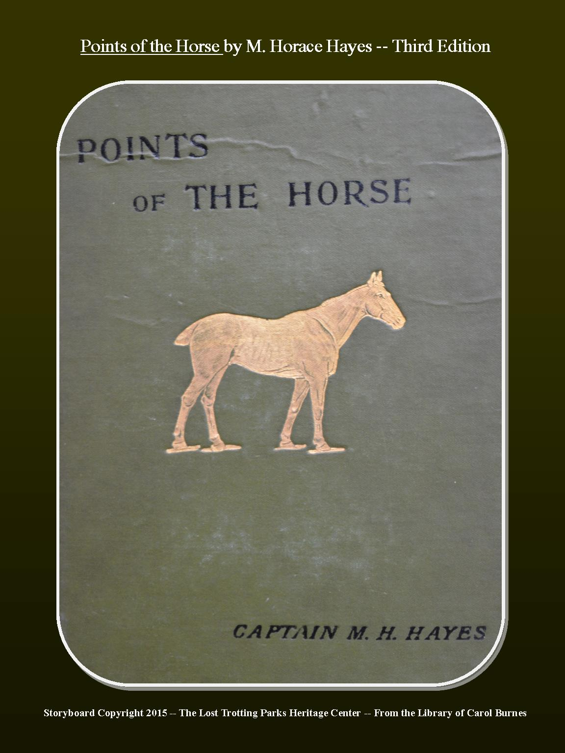 The Points of the Horse — Third Edition — First Published in the 19th Century