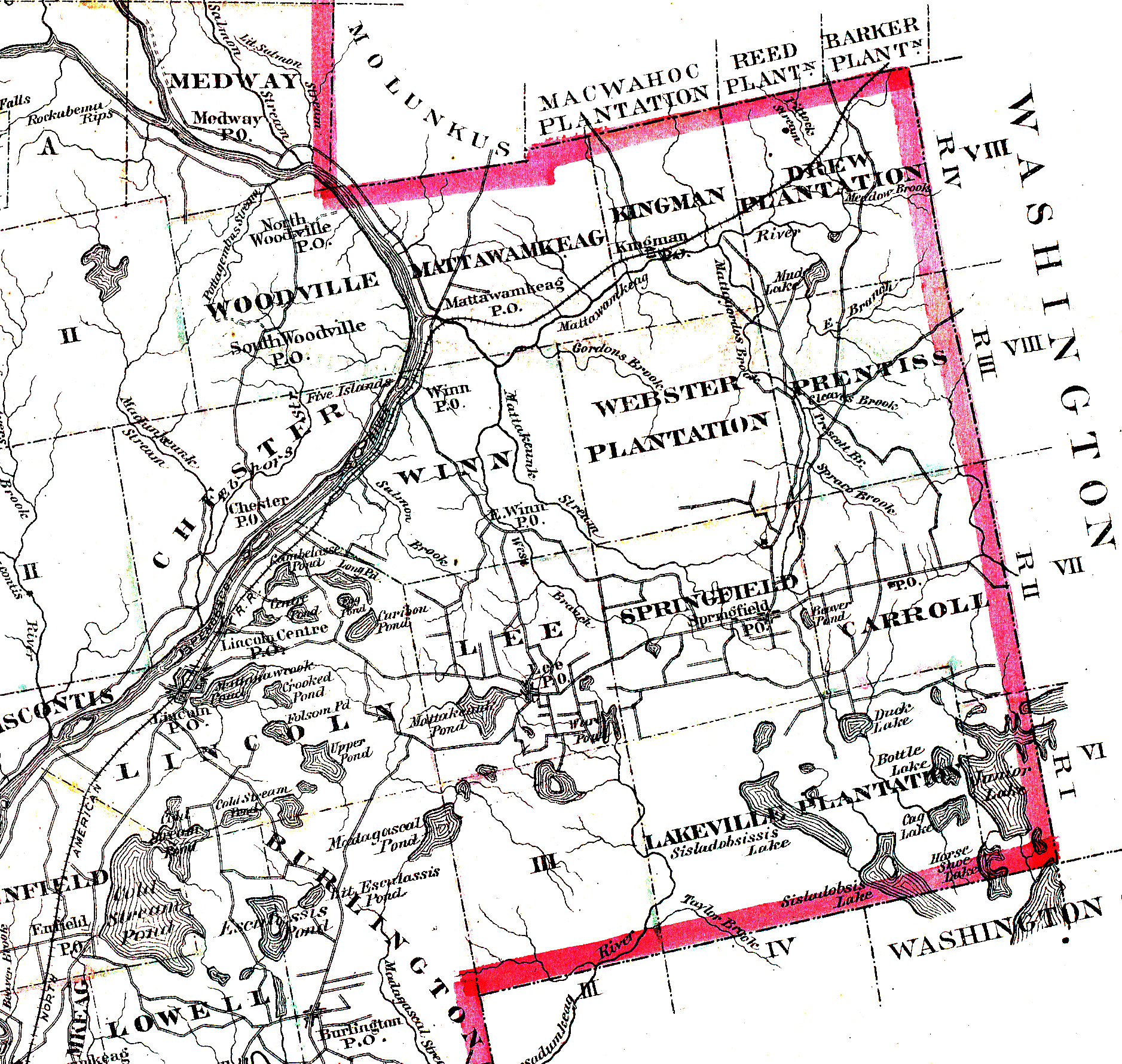 penobscot county Lands of america recently had $2 billion in land and other rural acreage for sale for sale in the cotton state this represents a total of 405,892 acres of land for sale in the state (accounting for around one percent of land in the state.