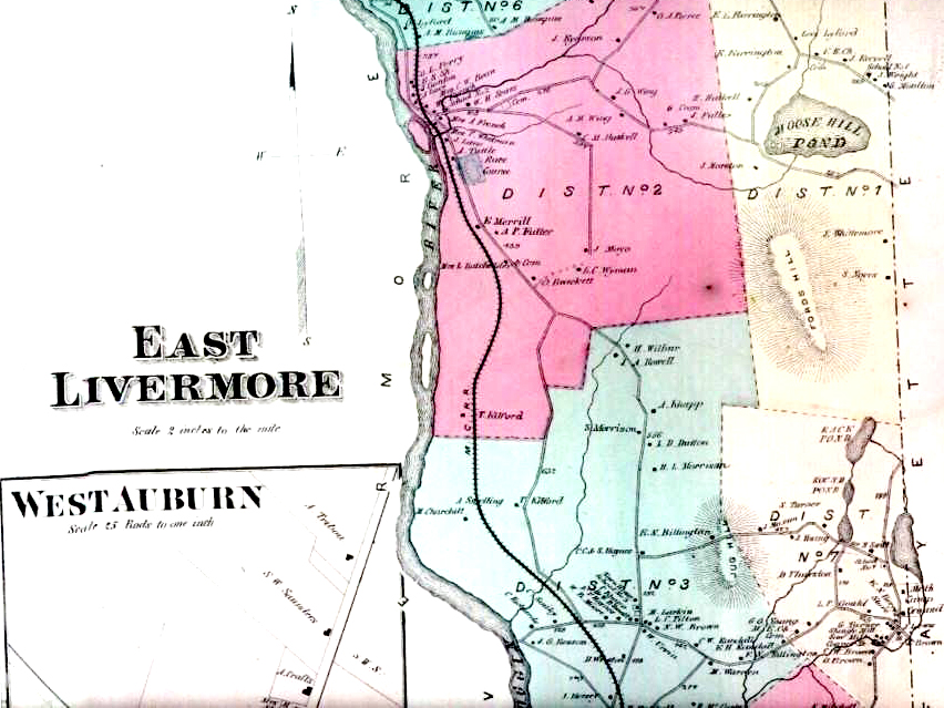 East Livermore Falls' Lost Trotting Park 1873