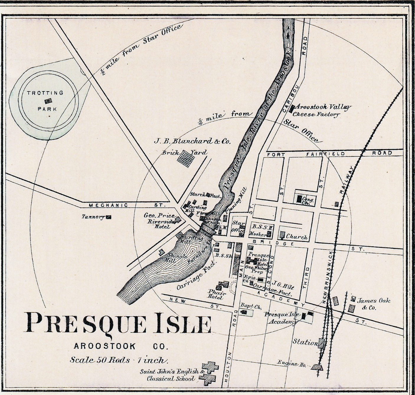 The Presque Isle Trotting Park Association Incorporated in the Year 1868