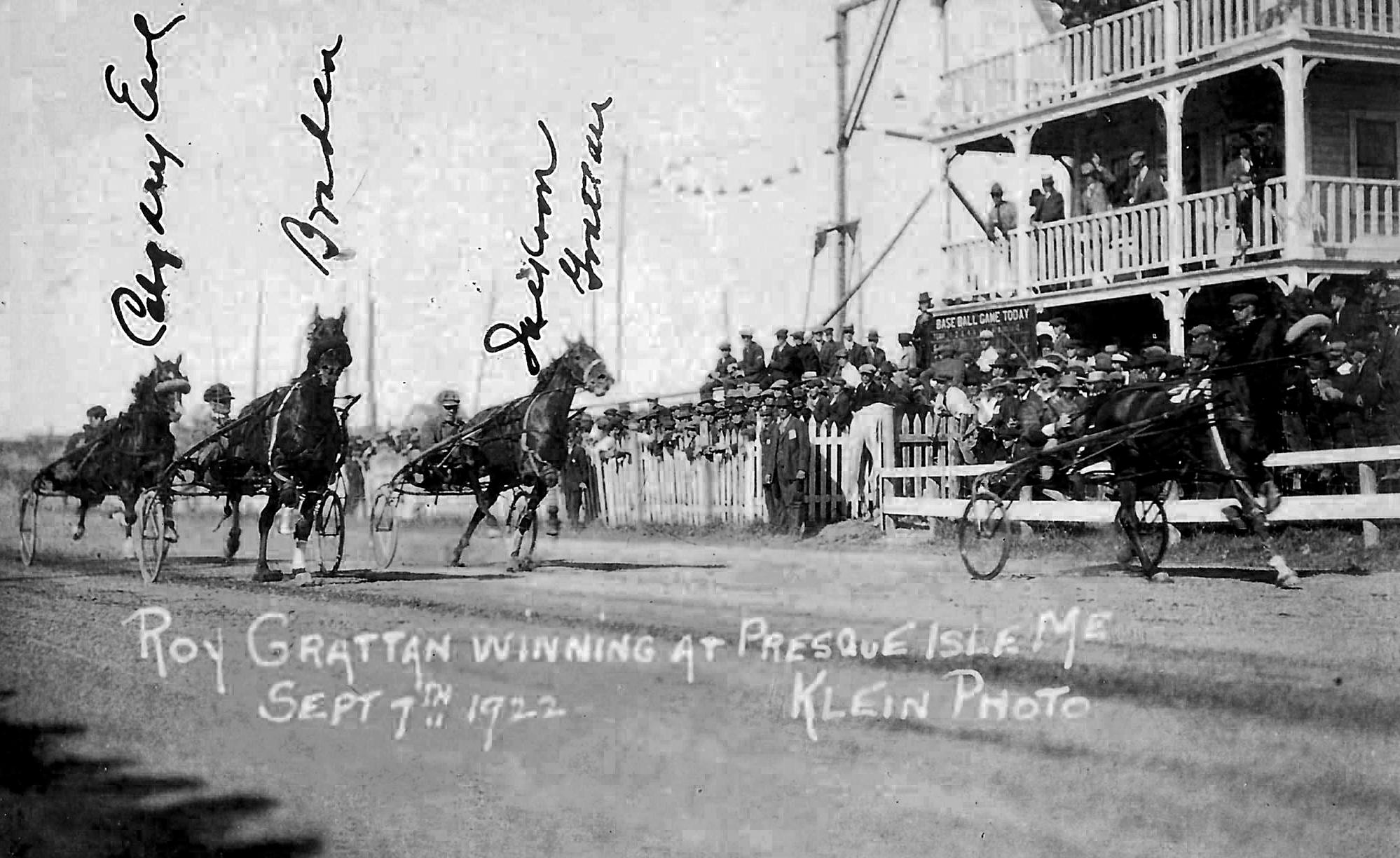 The Northern Maine Fair — Grandstand Views 1907 through 2000