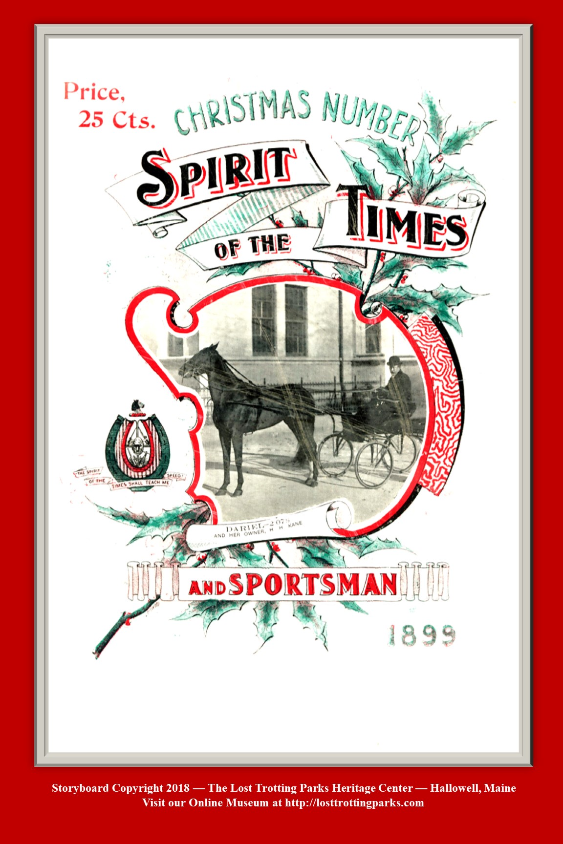 Christmas Issue 1899 — The Spirit of the Times
